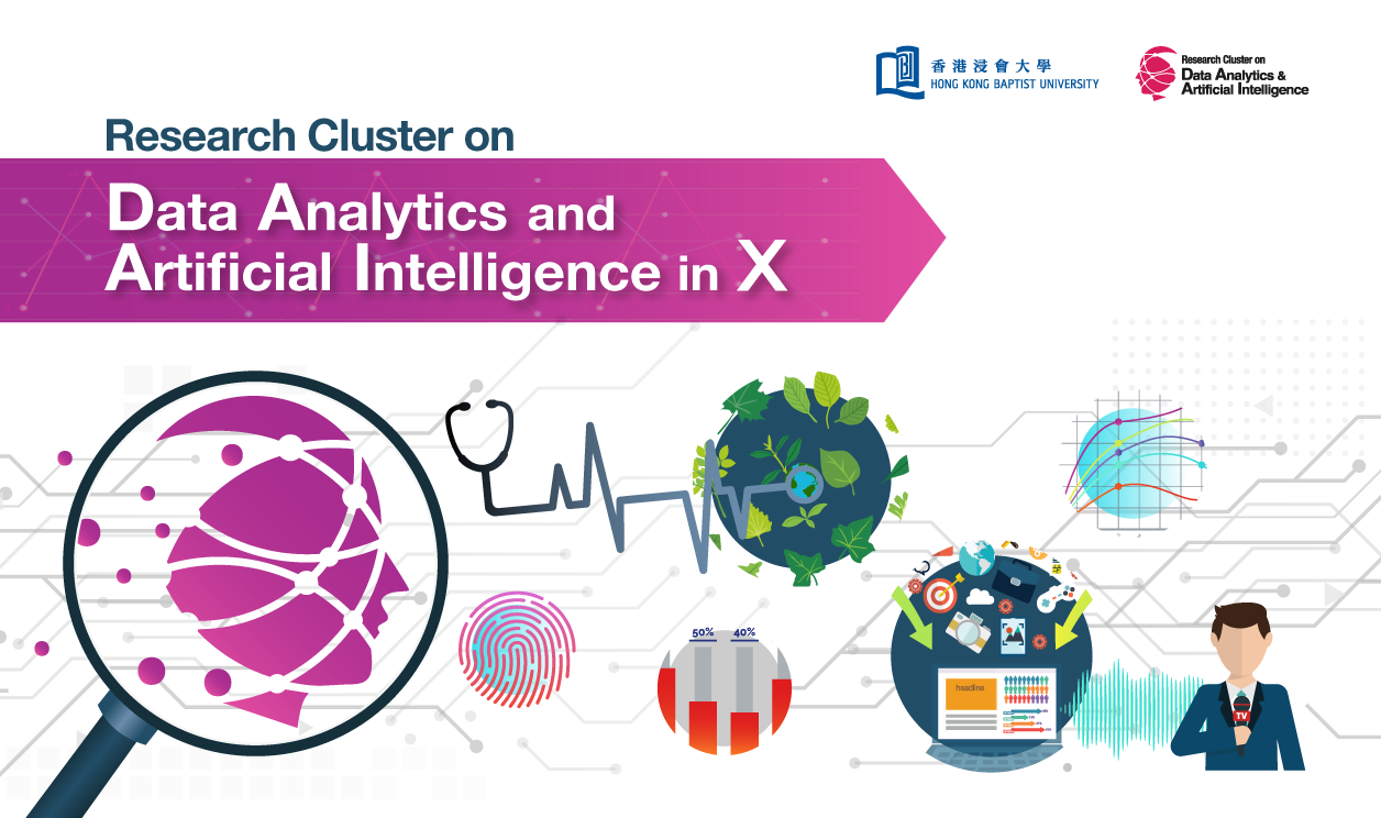 Research Cluster on Data Analytics and Artificial Intelligence in X